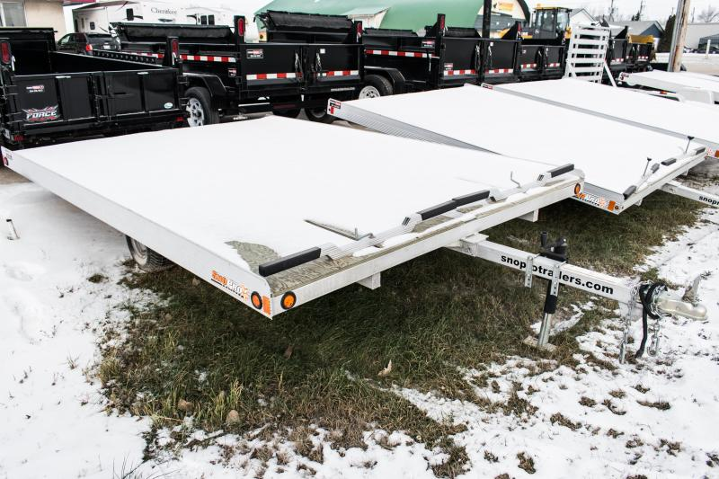 2016 SnoPro 12ft Lite-E Tilt Snowmobile Trailer