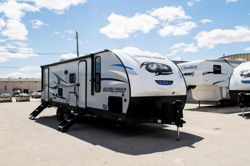 2019 Alpha Wolf Limited 26DBH-L Travel Trailer
