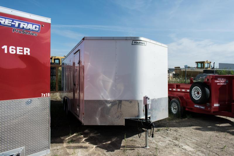 2012 Haulmark 8.5 x 18 Enclosed Cargo Trailer 7K Ramp