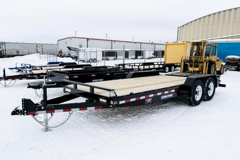 2019 Sure-Trac 7 x 15+3 Implement HD Univ Ramp 14K