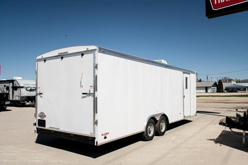 2020 Cargo Mate 8.5 x 24 Custom Office Enclosed Cargo Trailer w/Ramp