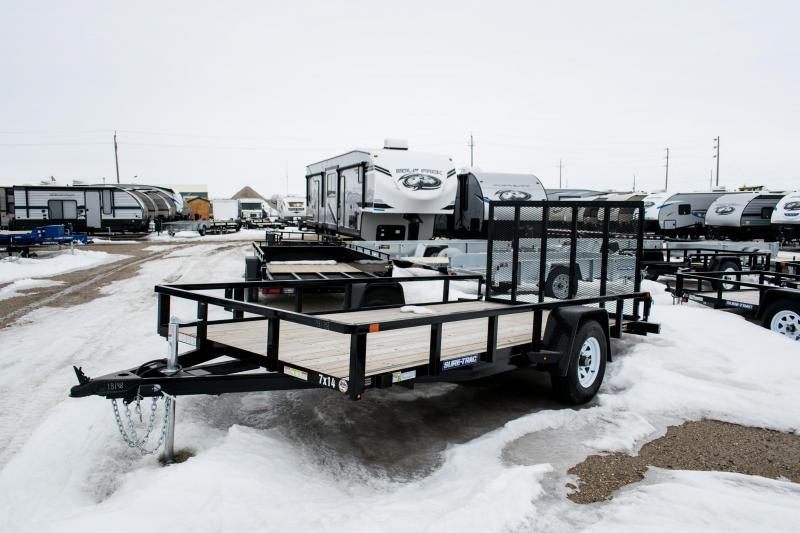 2018 Sure-Trac 7 X 14 Tube Top Utility 5K Brake