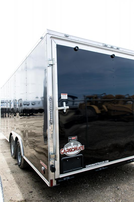 2019 Cargo Mate 8.5 X 20 Car / Racing Enclosed Cargo Trailer