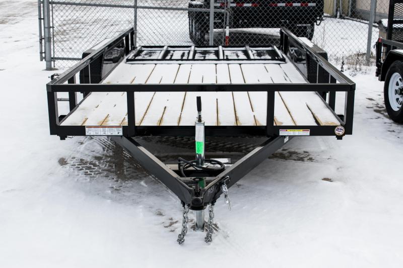 2019 Sure-Trac 7 X 14 Tube Top Utility 7k Tandem