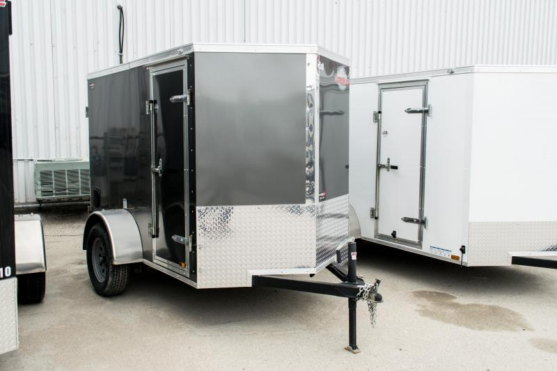 2018 Cargo Mate 5X8 Enclosed Trailer 3K Barn +6