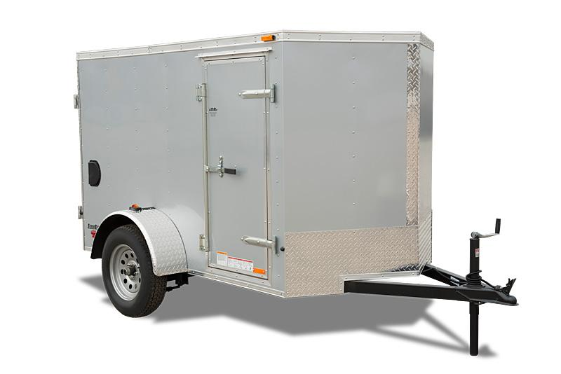 "2018 Cargo Mate 5X8 Enclosed Trailer 3K Barn +6"""