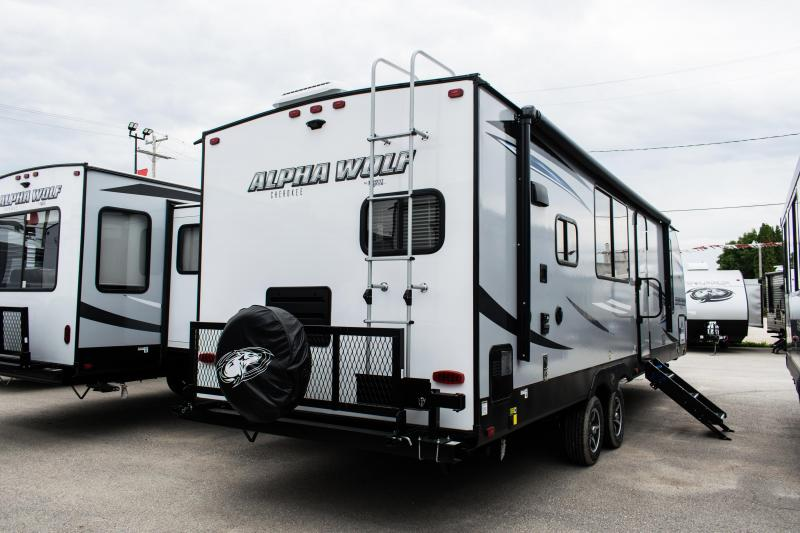 2020 Alpha Wolf Limited 27RK-L Couples Model Travel Trailer