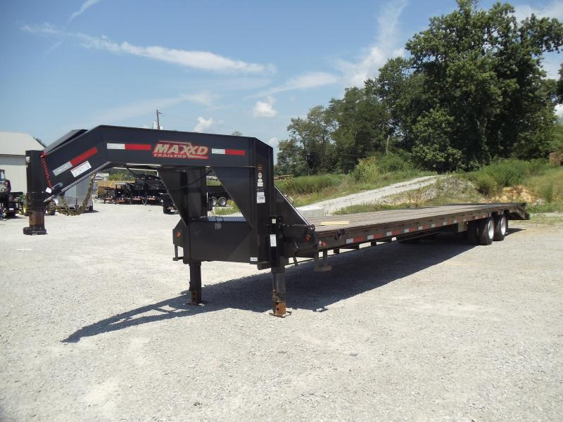 2017 Maxxd Trailers LHX 10240 Flatbed Trailer
