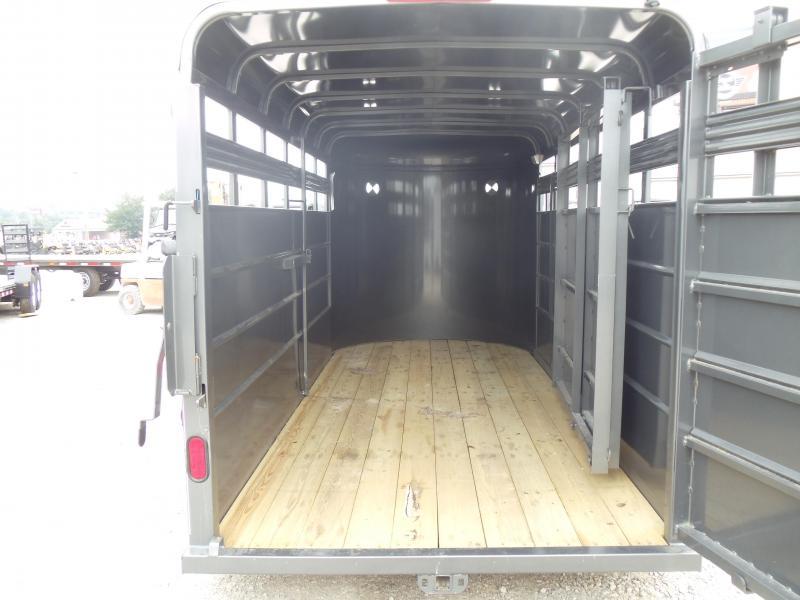 2017 CornPro Trailers SB-16 6S Livestock Trailer