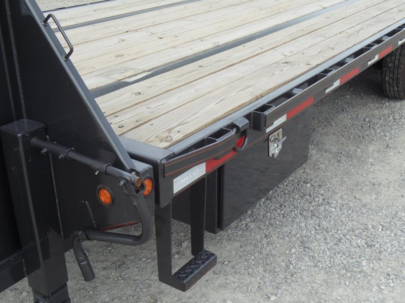 2017 Maxxd Trailers TSX10226 Flatbed Trailer