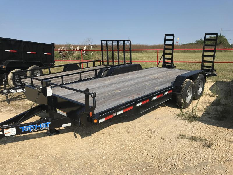 2018 Performance Trailers HP202 Equipment Trailer