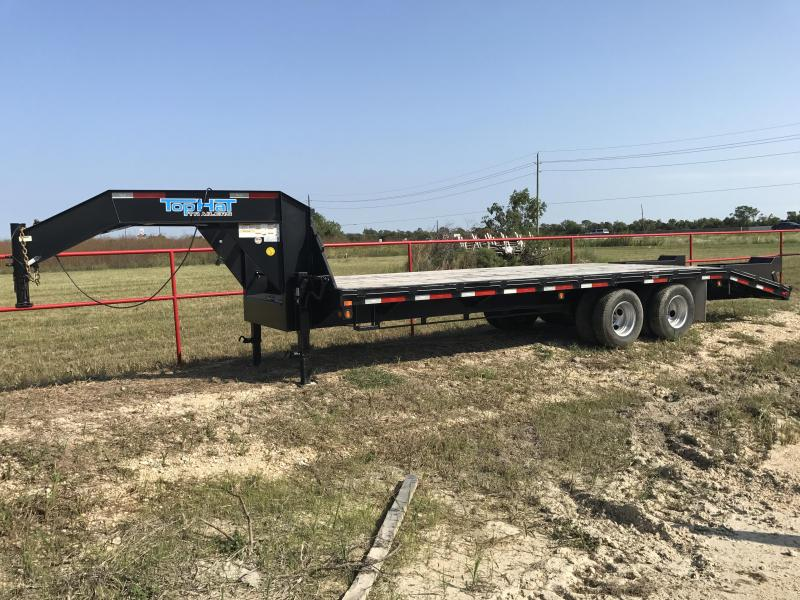 2018 Top Hat Trailers GN240-25X8.5-24E-F Equipment Trailer