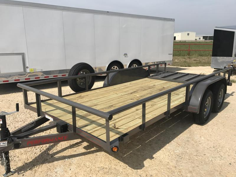 2018 Performance Trailers