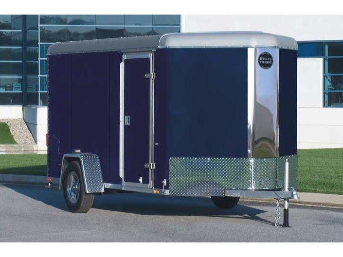 2016 Wells Cargo TW142-V Enclosed Cargo Trailer