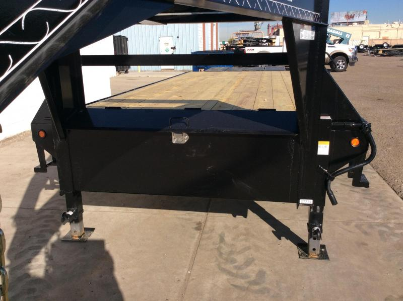 2018 Lamar 25ft Heavy Duty Deck-Over Flatbed (FS)