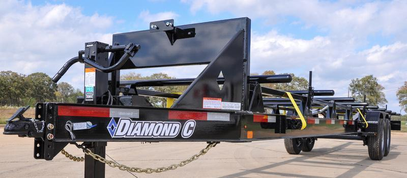 2015 Diamond C Trailers 50PTL32X69 PIPE/POLE Equipment Trailers