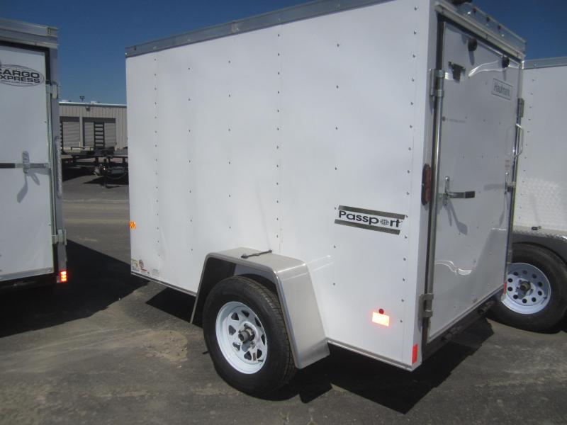 2017 Haulmark PPT5X8DS2 Enclosed Cargo Trailer