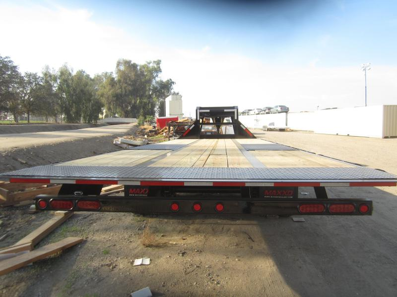 2017 Maxxd Trailers 26X102- MAXXD FLATBED TILT WITH DUALS Equipment Trailer
