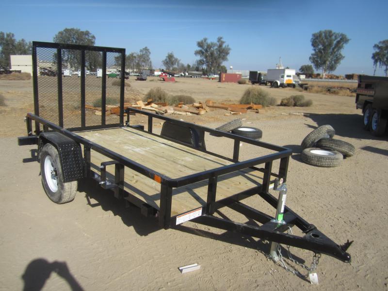 2016 Sure-Trac ST6210TA-B-030 Utility Trailer