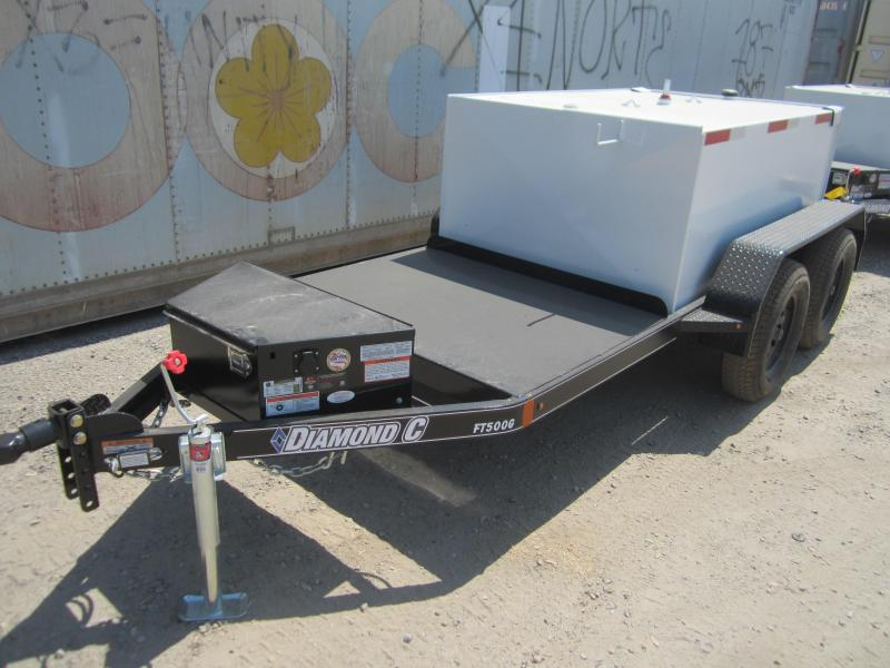 2017 Diamond C Trailers FUEL TRANSFER TRAILER 500GAL Other Trailer