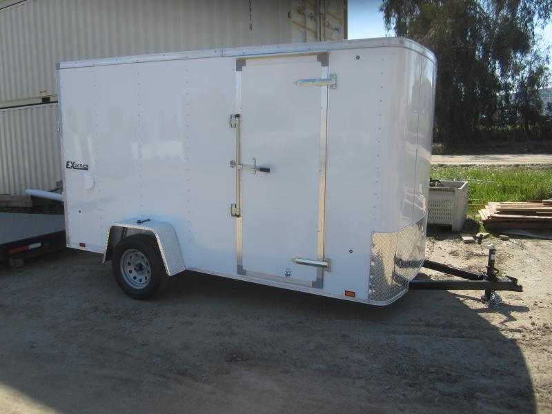 2018 Cargo Express 6X12 Enclosed Cargo Trailer