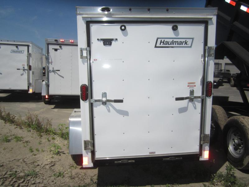 2017 Haulmark 5X8 Enclosed Cargo Trailer