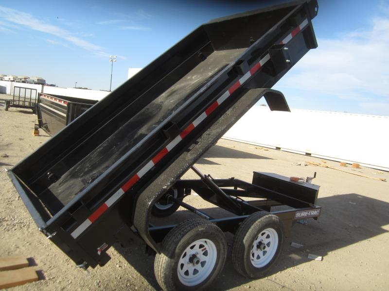 2016 Sure-Trac ST6210D-B-070 Dump Trailer