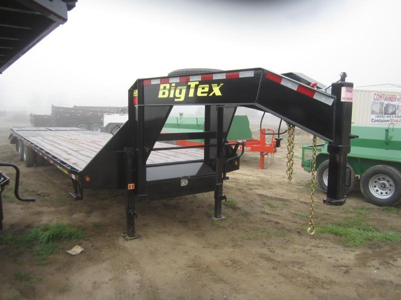 2016 Big Tex Trailers 22GN-28BK5MR Flatbed Trailer