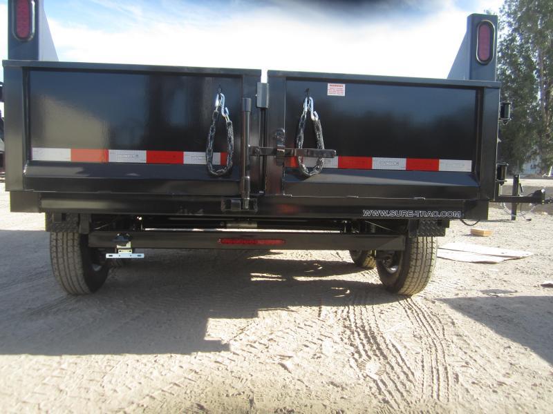 2016 Sure-Trac ST7212D1R-B-100 Dump Trailer