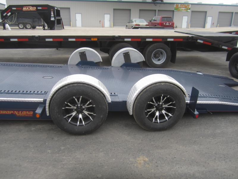 2017 Maxxd Trailers 24x80- MAXXD 10K DROP-N-LOAD Car / Racing Trailer