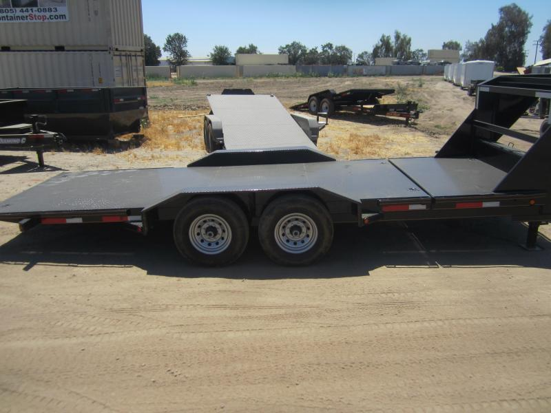 "2016 Maxxd Trailers 20X83-8"" EQUIPMENT Flatbed Trailer"