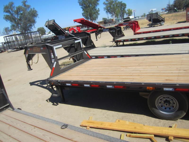 2016 Maxxd Trailers GN FLATBED WITH SINGLES Flatbed Trailer