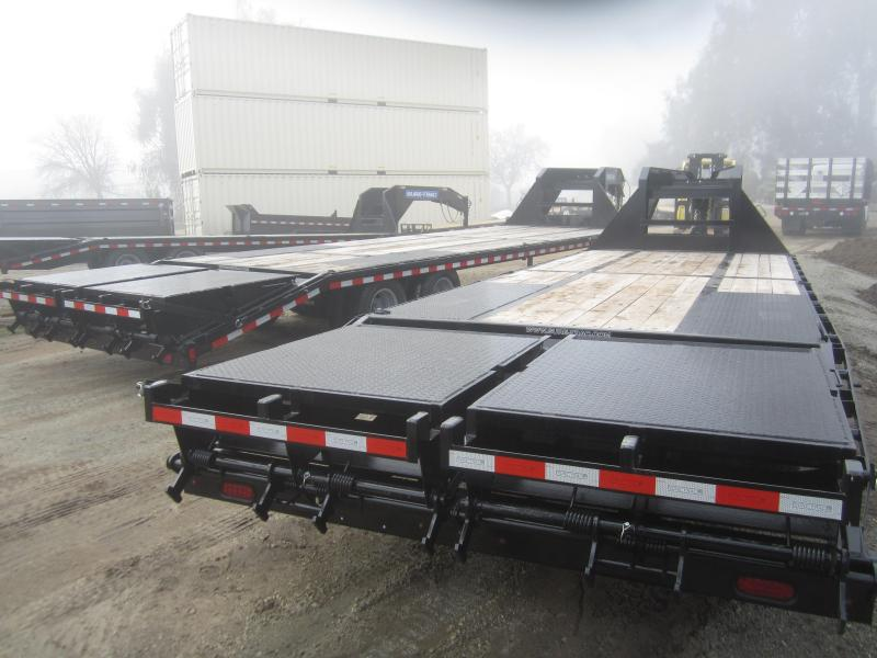 2017 Sure-Trac ST102205LPDOPL72A-GN-239 Flatbed Trailer