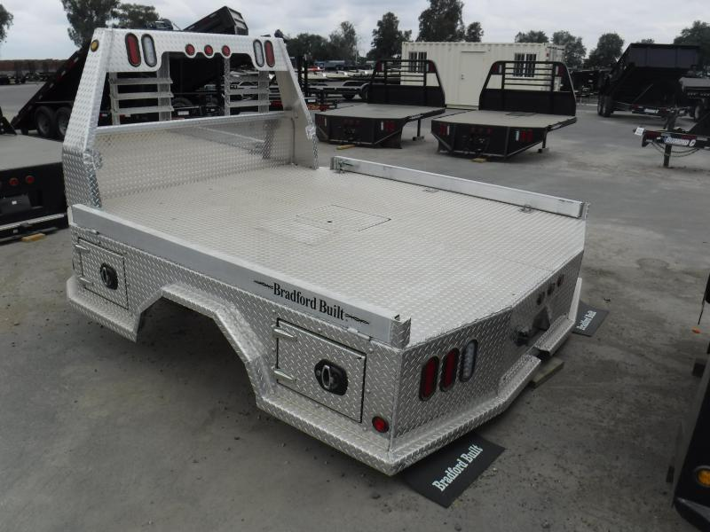 2019 Bradford Built Aluminum 4 Box Truck Bed Bronco Trailer