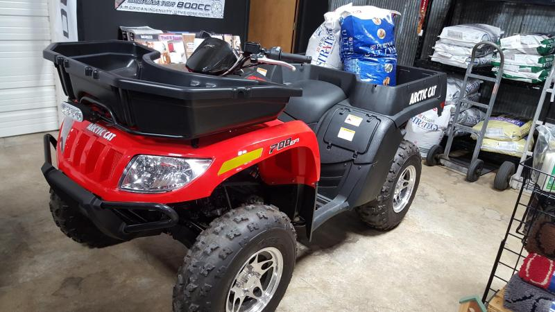 2015 Arctic Cat 700 TBX