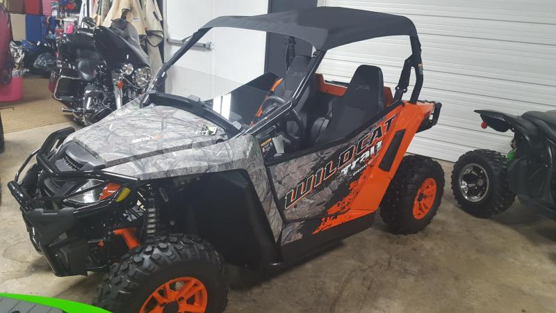 2016 Arctic Cat Wildcat XT Trail Limited Edition Camo