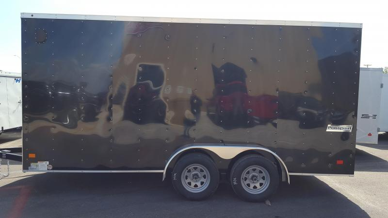 2017 Haulmark PPT7X16DT2 Cargo/Enclosed Trailer******HAVE EVERY SIZE YOU MAY NEED IN STOCK******