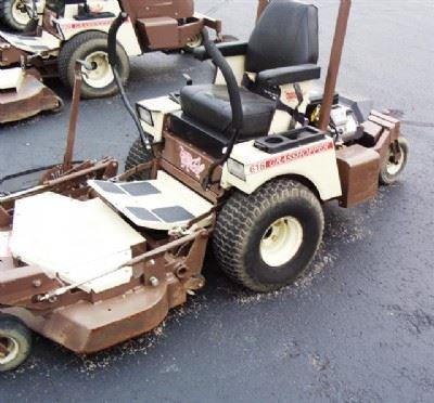 2007 Grasshopper 616 T2 Mower 44