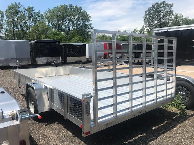 7 X 14 Single Axle Open Utility Trailer