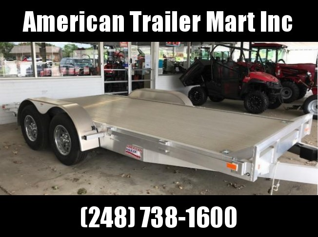 "83"" X 20'  Open Car Hauler / Flatbed Trailer"