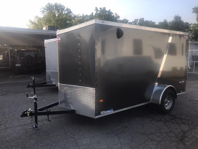 6 X 12 Single Axle Enclosed Trailer