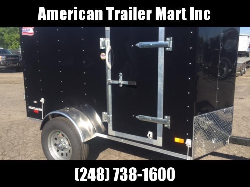 4 X 8 Single Axle Enclosed Trailer