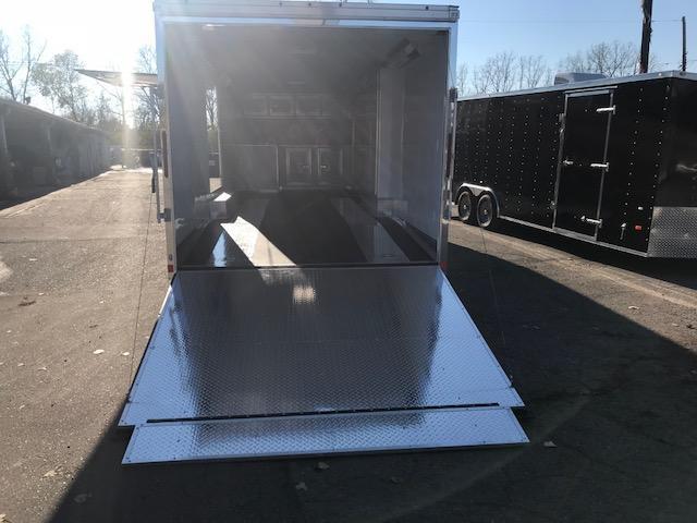 8.5 X 28 Tandem Axle Enclosed Car Hauler Trailer