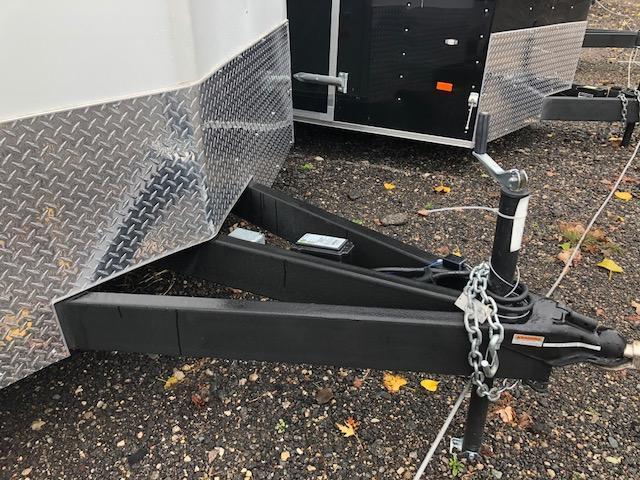 8.5 X 16 Tandem Axle Enclosed Car Hauler Trailer