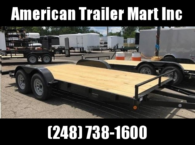 "83"" X 16 Open Car Hauler/Flatbed Trailer"