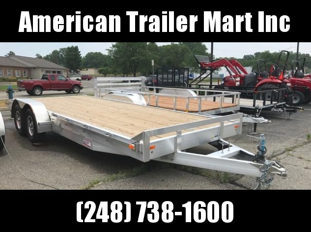 "82"" X 20 Equipment Trailer / Flatbed / Open Car Hauler Trailer"