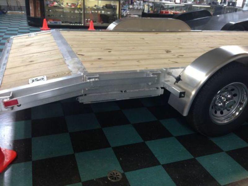 "82"" X 18 Open Car Hauler/Flatbed Trailer"