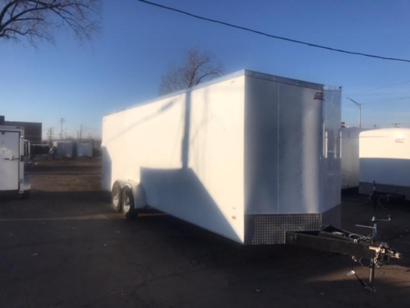 7 X 24 Tandem Axle Enclosed Trailer