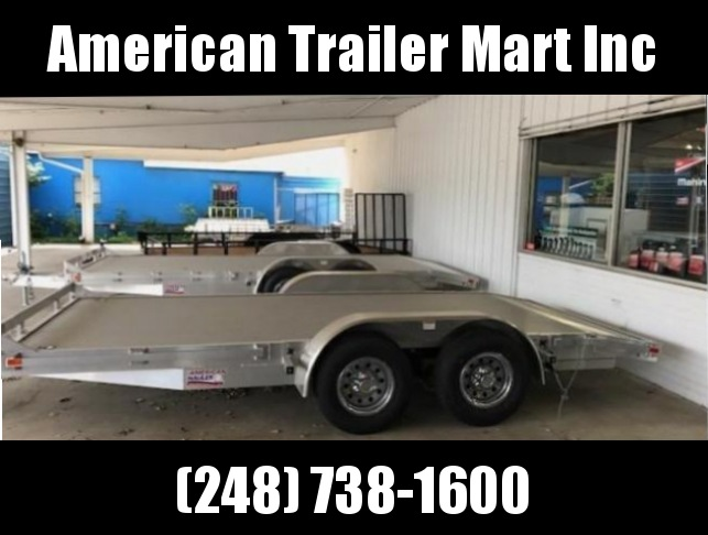 "83"" X 20 Open Car Hauler/Flatbed Trailer"