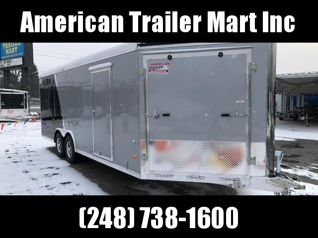 8.5 X 24 Tandem Axle Enclosed Snowmobile/All Sport/Car Hauler Trailer